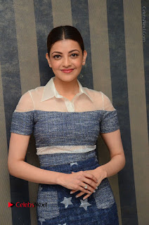 Actress Kajal Agarwal Latest Stills at Khaidi No 150 Movie Interview  0082.JPG