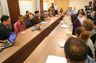 Ridwan Kamil diskusi Millennium Challenge Indonesia