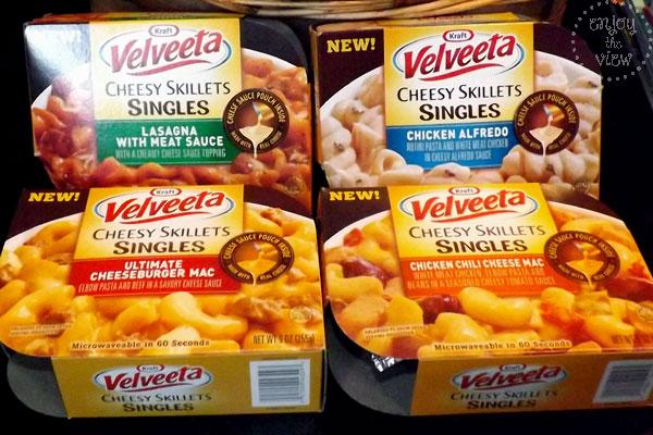 Velveeta Cheesy Skillets Singles PersonalFeast