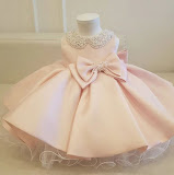 Pink Ballgown Dress for Infant Girls