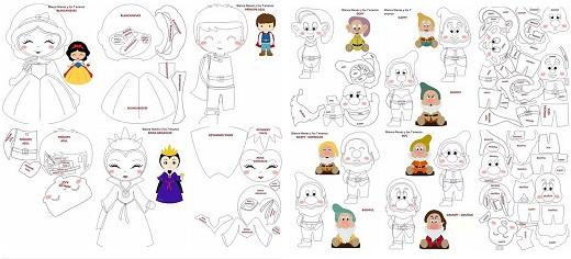 Personagens de Branca de Neve e os Sete Anões 87caa567f39