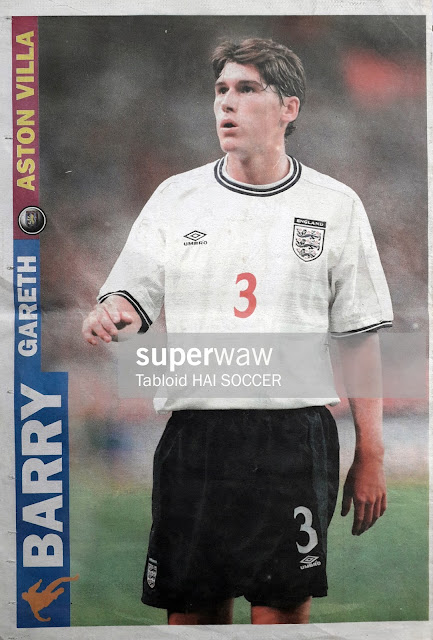 GARETH BARRY ENGLAND 2000