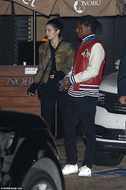 Kendall Jenner and A$AP re-ignite dating rumours as they step out for dinner