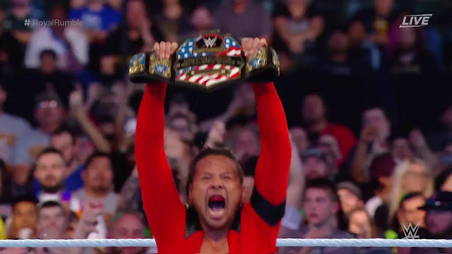 Royal Rumble : Shinsuke Nakamura Defeated Rusev To Reclaim The United States Title