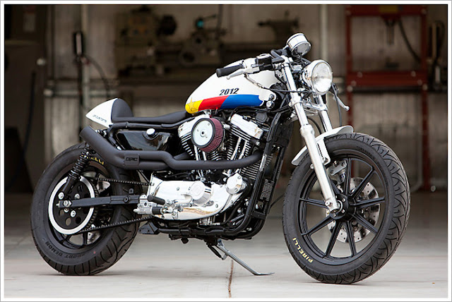 Harley Davidson Sportster By DP Customs Hell Kustom