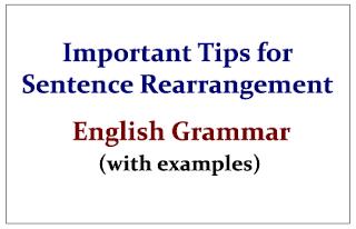 Image result for rearrangement of sentences for ibps po