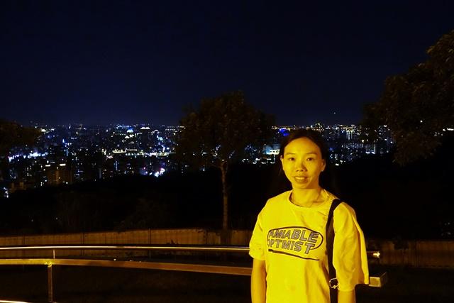 小品在虎頭山環保公園~桃園市夜景好去處