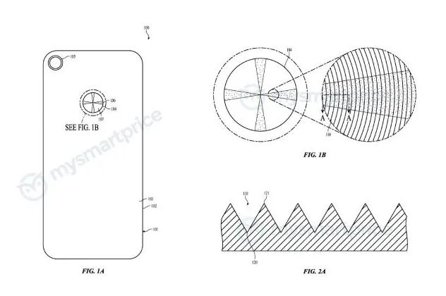 براءة إختراع تكشف عن خطط ابل لهواتف آيفون المستقبلية