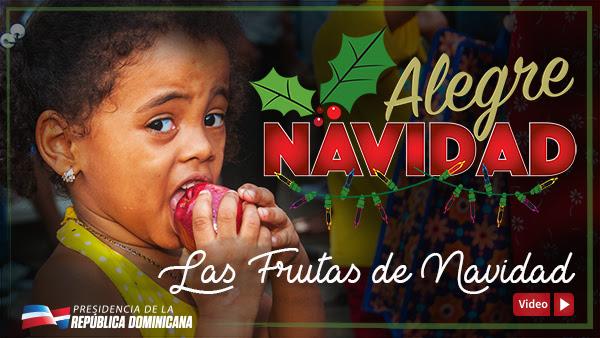VIDEO: Las frutas de navidad
