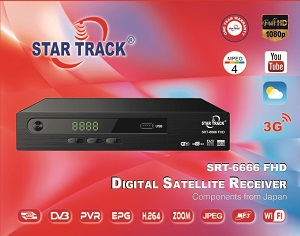 Star track receiver SRT 6666 FHD