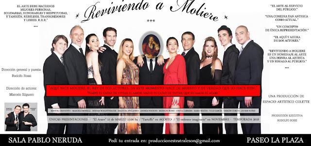 """RODOLFO ROSSI Presenta """"Reviviendo a Moliere"""""""