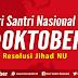 PBNU Gelar Kirab Resolusi Jihad 2000 Kilometer Liwat Trenggalek