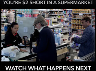 You're $2 Short In A Supermarket, Watch What Happens Next - Share today!