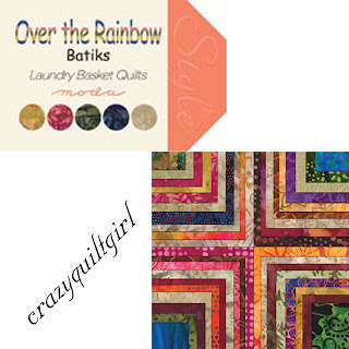 Moda OVER THE RAINBOW BATIKS Quilt Fabric by Edyta Sitar of Laundry Basket Quilts