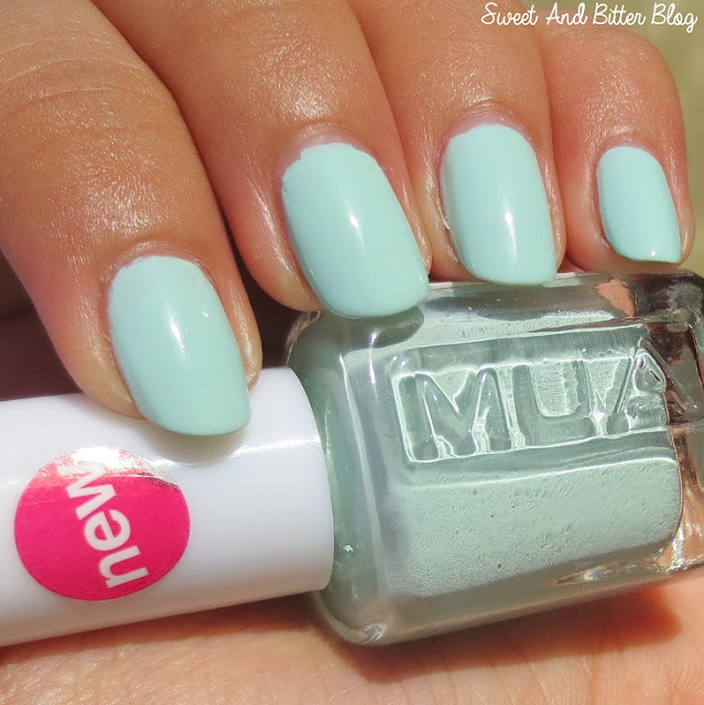 MUA Pistachio Ice Cream Swatch