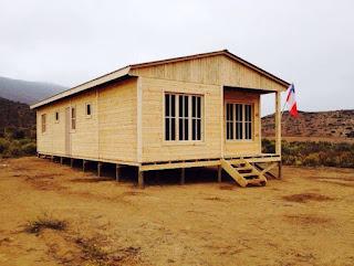 Casa Prefabricada Paine bandera