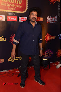 Chiranjeevi Stills at Gemini TV Puraskaralu Event  0005.JPG