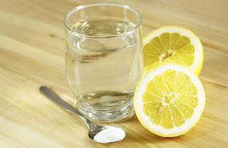 Bicarbonato de sodio y limón para el vomito