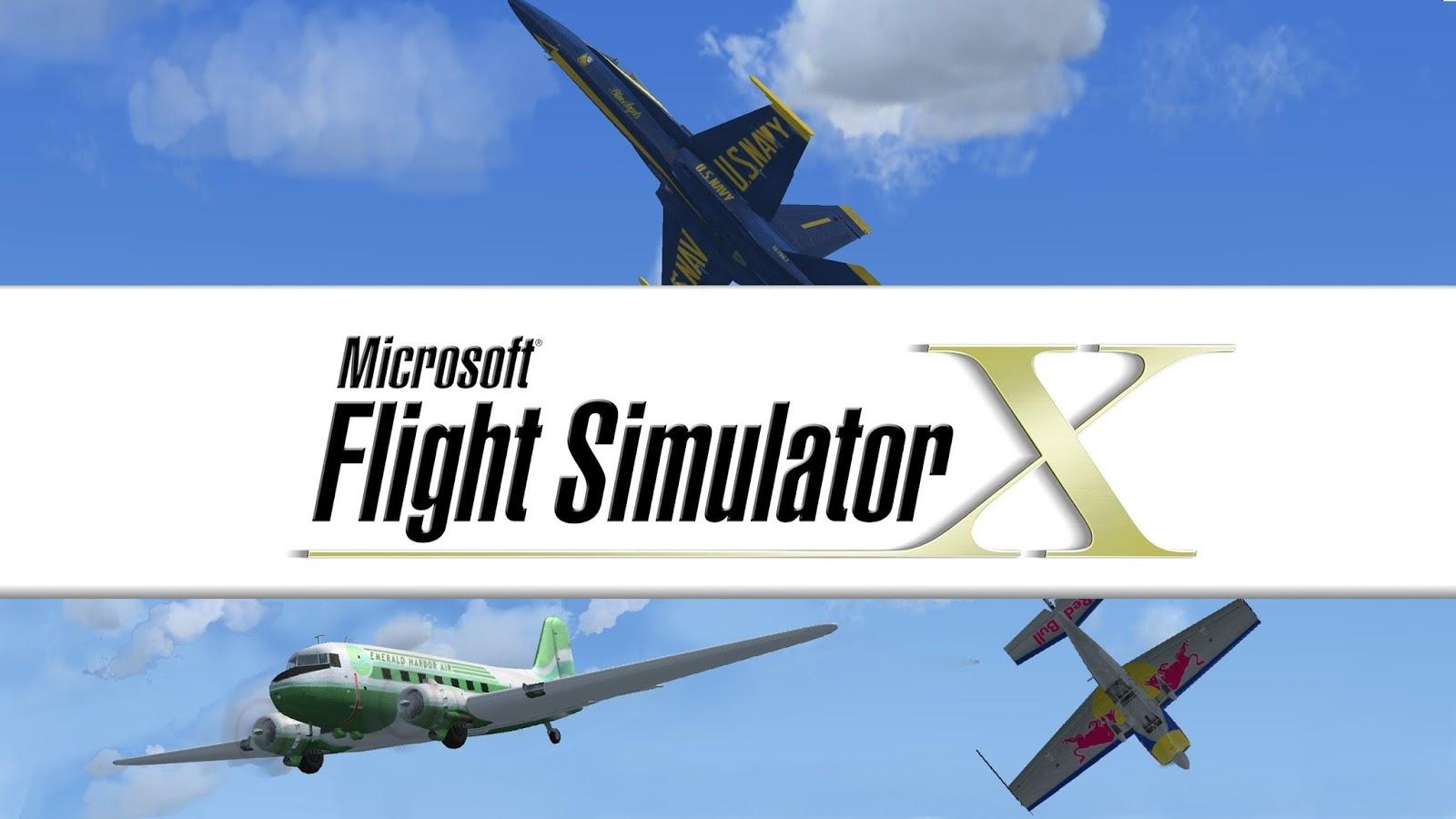 تحميل لعبة microsoft flight simulator x مضغوطة