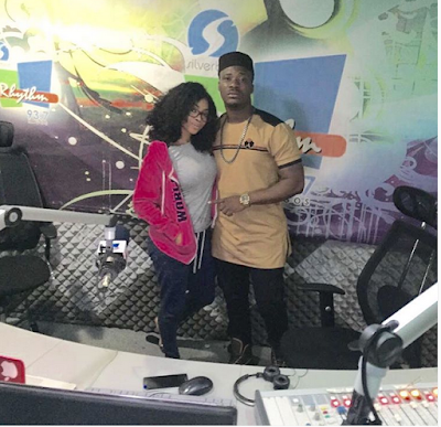 """Make You And Aunty Toke Kuku Marry Na"": Fan Tells Jaywon As He Poses With Toke"