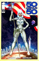 50 Girls 50 #1 By Doug Murray, Frank Cho, Alex Medellin, Nikos Koutsis, Thomas Mauer, Mike Toris.