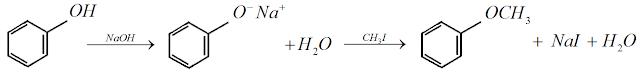produçao metoxibenzeno anisol fenol