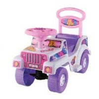 Ride-On Car SHP BJ597 Baby Jeep