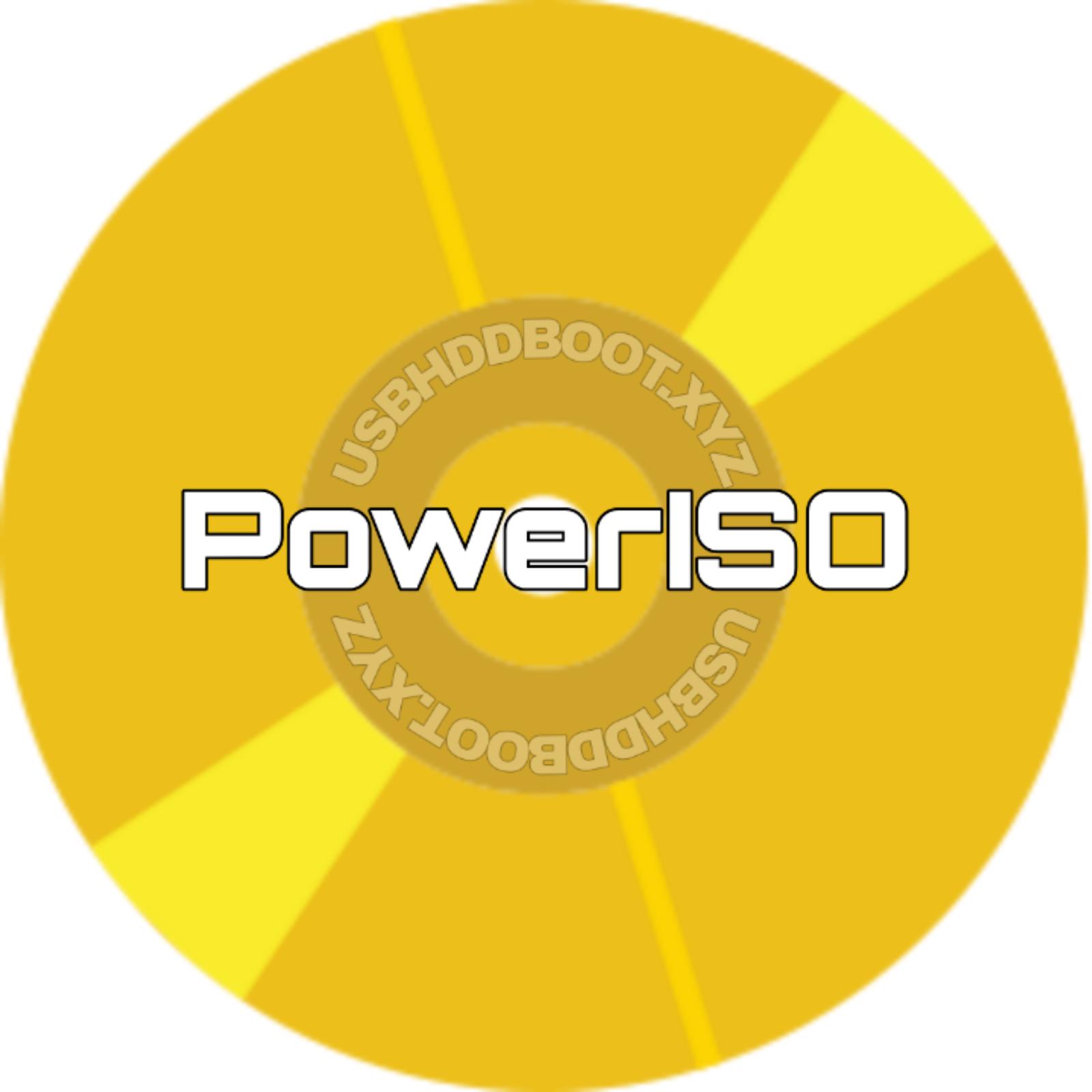 Download PowerISO mới nhất v7.9 Full - USBHDDBOOT.XYZ