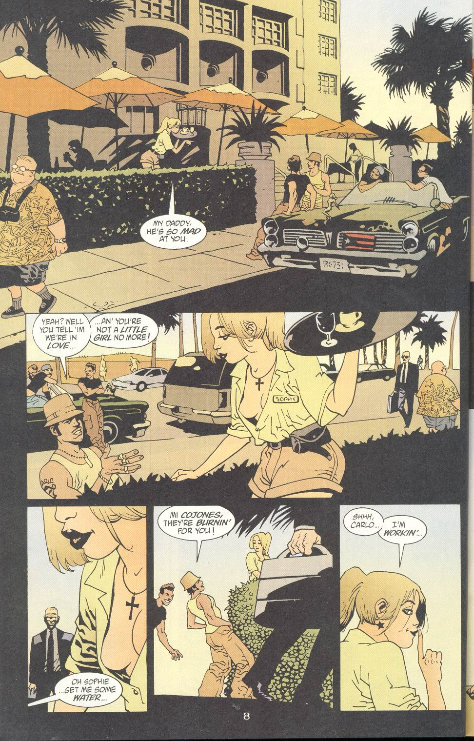 Read online 100 Bullets comic -  Issue #8 - 9