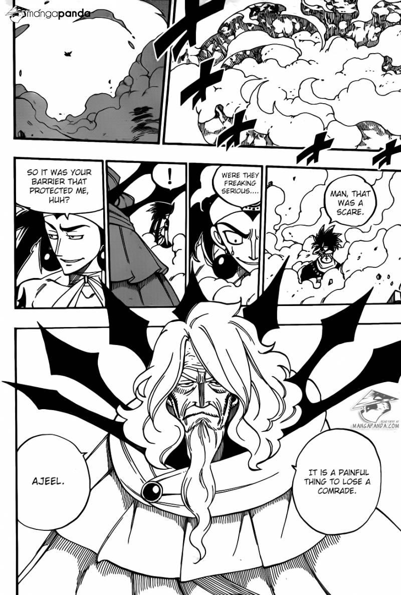 Fairy Tail Ch 447: Escape Battle