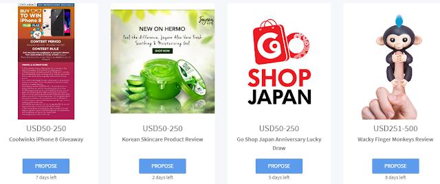 Sushivid Kerja-kerja advertorial berbayar untuk Instagrammers dan Youtubers