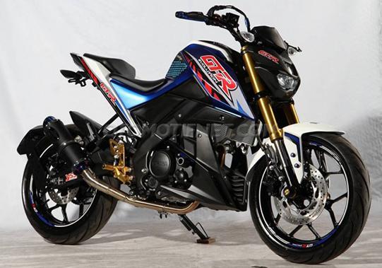 foto dan gambar Modifikasi Yamaha Xabre terbaru