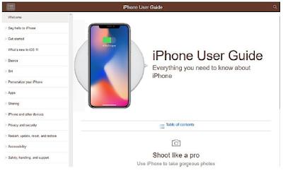 iPhone X User Guide, iPhone X User Manual, iPhone X Manual PDF