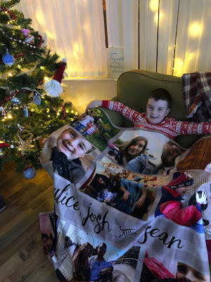 cheap personalised photo blanket