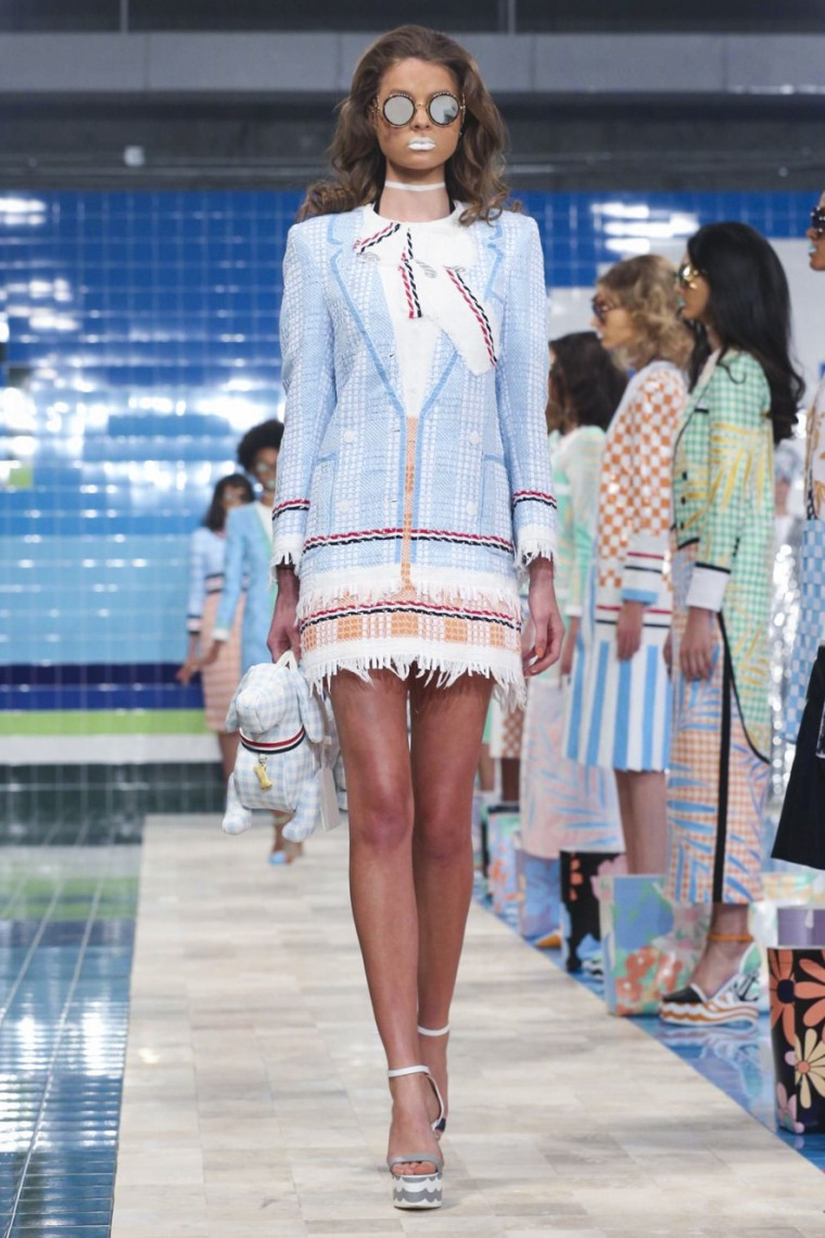 thom-browne, thom-browne-spring-summer, thom-browne-printemps-ete, nyfw, nyfw16, new-york-fashion-week, runway-photos, model-photos, fashion-photos, thom-browne-ss17, thom-browne-spring-summer-new-york-fashion-week, dudessinauxpodiums, du-dessin-aux-podiums