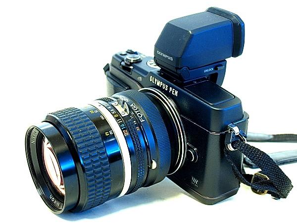 Olympus E-P5, Nikkor 85mm F2 Ai-S