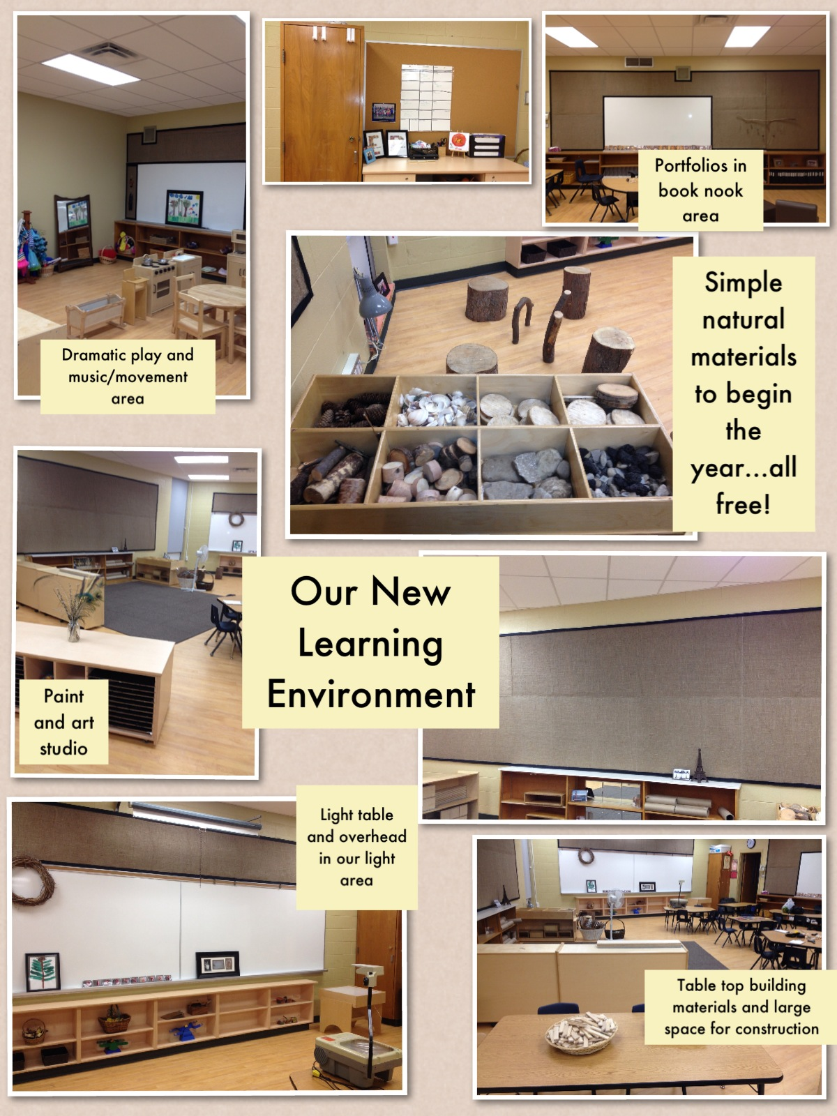 how to create a calm space in a classroom