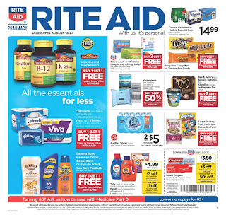 ⭐ Rite Aid Ad 8/18/19 ✅ Rite Aid Weekly Ad August 18 2019