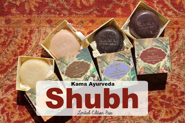 Kama Ayurveda SHUBH Limited Edition Soap Box Review