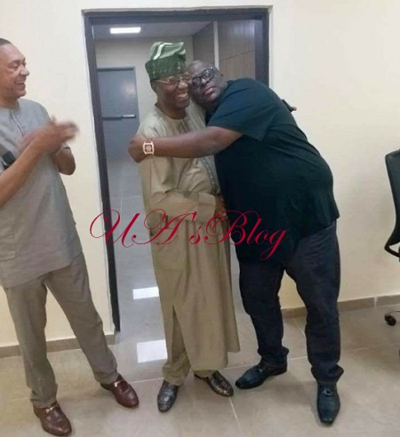 See What Happened Between Gbenga Daniel And Kashamu After They Reconciled (Photos)