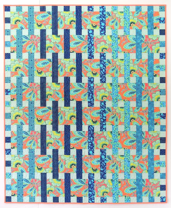 Interweave quilt pattern, Springleaf Studios, Amy Butler