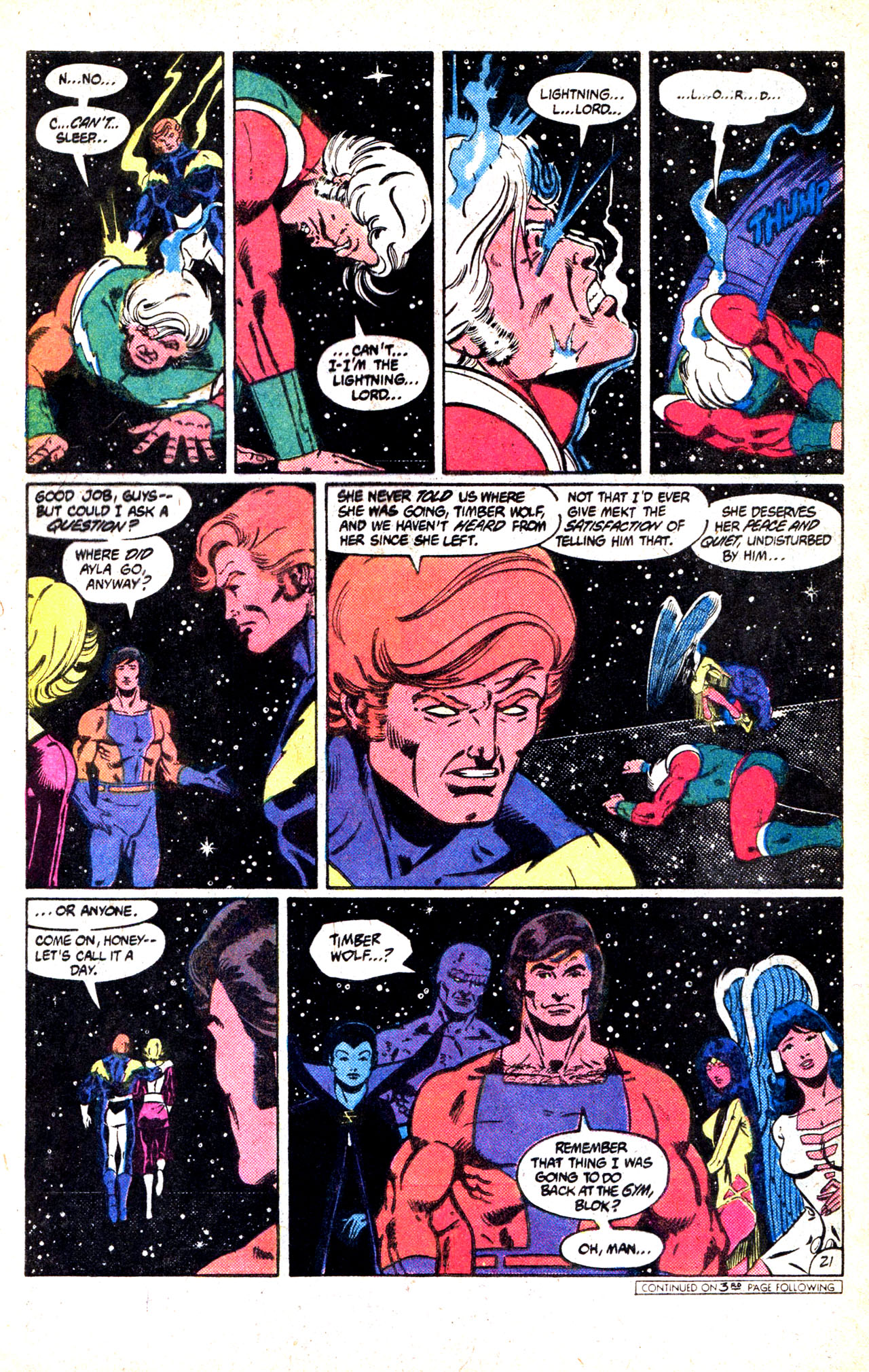 Legion of Super-Heroes (1980) 302 Page 27