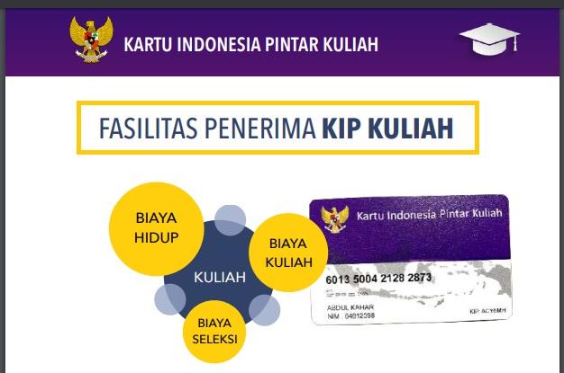gambar kartu KIP kuliah Kemendikbud 2020