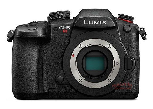 Panasonic Lumix GH5s, вид спереди