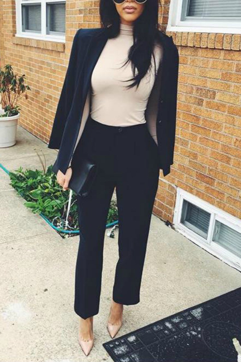 Winter Work Outfits Business Casual - Business Attire ...