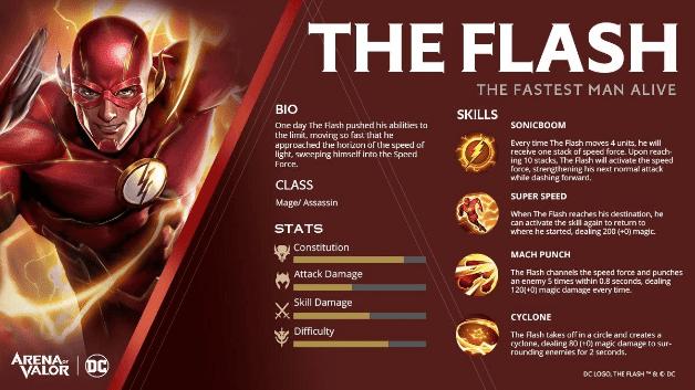 The Flash Hero Baru AoV yang Siap Mengejar Musuh
