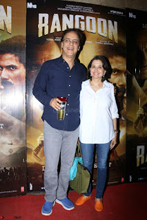 Bollywood Celebrities at Rangoon Movie Special Screening Feb 2017 07.JPG