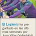 El DIARIO AS informa que el Leganés podría pagar un millón por Juan Villar