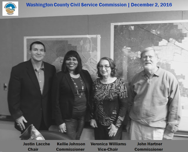 2016 | Washington County (Oregon) Civil Service Commission | Justin Lacche