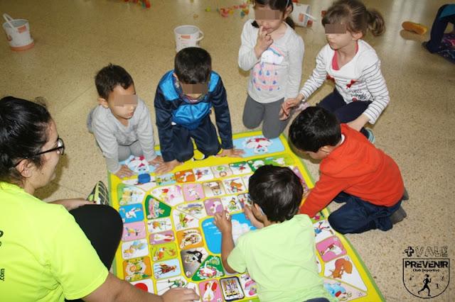 juego oca para niños suelo alfombra